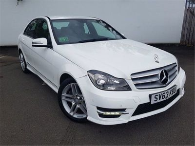 used Mercedes C180 C-ClassBlueEFFICIENCY AMG Sport 4dr