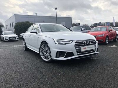 used Audi A4 40 TDI S Line 4dr S Tronic Saloon 2019