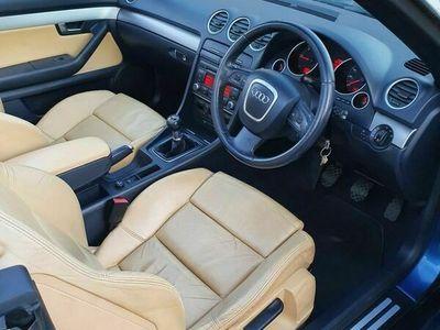 used Audi A4 Cabriolet Cabriolet 2.0 TDI Sport 2dr