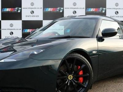 used Lotus Evora 3.5 V6 S SPORTS RACER 4 2d 350 BHP Red Leather-Heated seats-Rear Cam