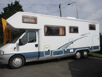 used Fiat Ducato Hobby LEFT HAND DRIVE