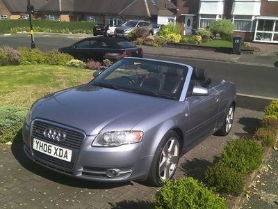 used Audi A4 Cabriolet Cabriolet 1.8 T S line Multitronic 2dr