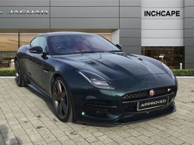used Jaguar F-Type Coupe 5.0 Supercharged V8 R 2dr Auto AWD