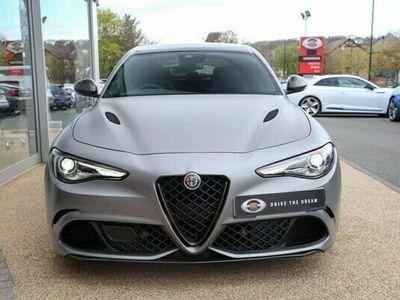 used Alfa Romeo Giulia Saloon 2.9 V6 Bi-Turbo Quadrifoglio NRING Auto (s/s) 4dr 1 OWNER CERAMIC BRAKES CARBON 2019