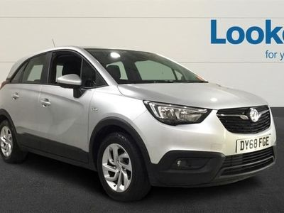 used Vauxhall Crossland X 2019 Chester 1.2 [83] Se 5Dr