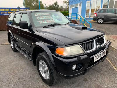 used Mitsubishi Shogun Sport 2.5 TD Equippe 5dr [114]