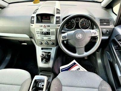 used Vauxhall Zafira 1.6 CLUB 16V 5d 103 BHP