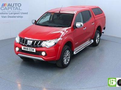 used Mitsubishi L200 2.4 DI-D 4WD warrior Auto 180 Bhp Leather Seats Low Emission