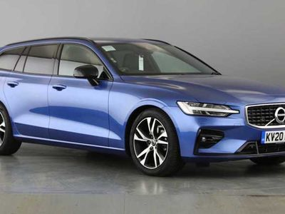 used Volvo V60 II D3 R-Design Plus (Apple Car Play & Android Auto)