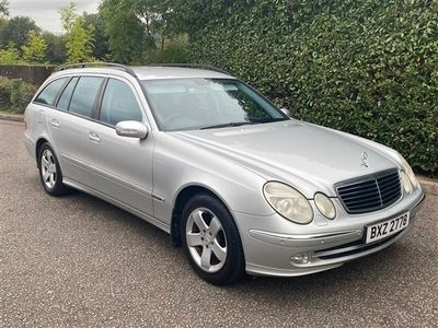 used Mercedes E240 E-Class EstateAvantgarde 5d Tip Auto