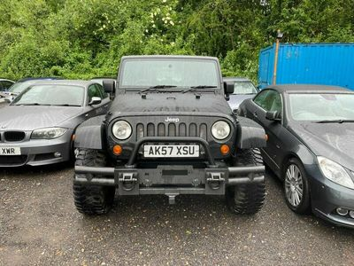 used Jeep Wrangler 2.8 CRD Sahara Unlimited 4WD 4dr