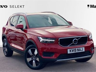 used Volvo XC40 T3 Momentum Manual, PANORAMIC SUNROOF, 360º Parking Camera, Winter Pack, INTELLISAFE PRO PACK, Wireless Phone Charger, POWER CHILD LOCKS, Xenium Pack