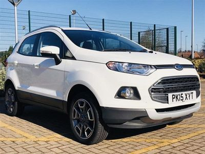 used Ford Ecosport 1.0 ECOBOOST TITANIUM X PACK 5DR FULL LEATHER | 5.9% APR AVAILABLE ON TH