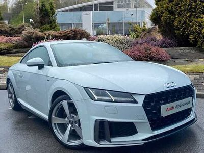 used Audi TT Coup- S line 45 TFSI 245 PS S tronic Coupe