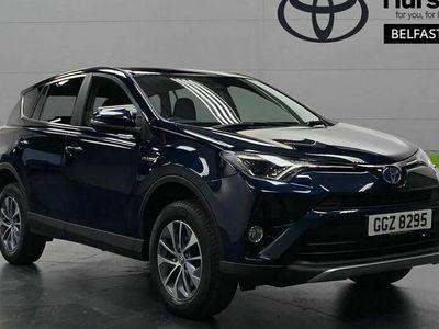 used Toyota RAV4 ESTATE 2.5 VVT-i Hybrid Business Ed Plus TSS 5dr CVT 2WD