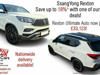 used Ssangyong Rexton 2.2 Ultimate 5dr Auto