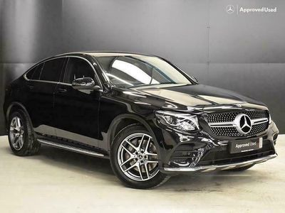 used Mercedes 220 GLC Coupe GLC4Matic AMG Line 5dr 9G-Tronic suv 2018