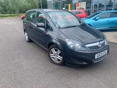 used Vauxhall Zafira 1.6I [115] Exclusiv 5Dr