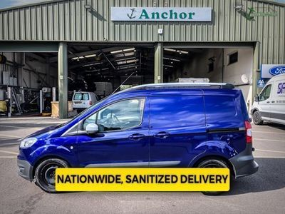 used Ford Transit Courier Trend Tdci Side Door Air in 'Deep Impact Blue'