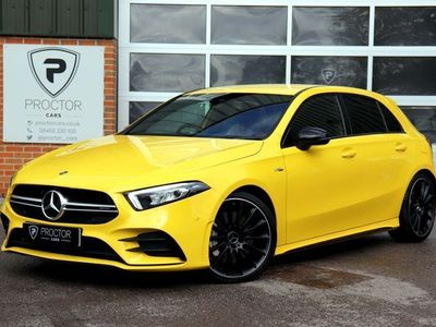 used Mercedes A35 AMG A Class 2.0(Executive) SpdS DCT 4MATIC (s/s) 5dr