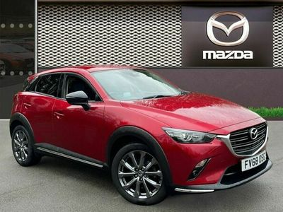 used Mazda CX-3 2.0 Skyactiv G Sport Black+ SUV 5dr Petrol (s/s) (121 Ps)