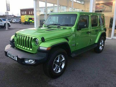 used Jeep Wrangler Sahara Unlimited