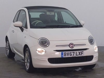 used Fiat 500C 1.2 Pop Star 2dr