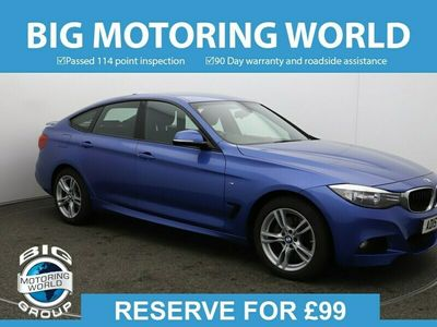 used BMW 335 Gran Turismo 3 Series D XDRIVE M SPORT for sale | Big Motoring World