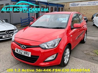 used Hyundai i20 1.2 Active 3dr