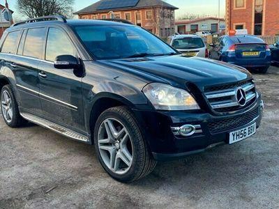 used Mercedes GL420 GL-Class EstateCDI 5d Tip Auto