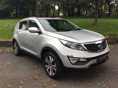 used Kia Sportage 2.0 CRDI FIRST EDITION 5d 134 BHP Heated Front and Rear Leather Seats