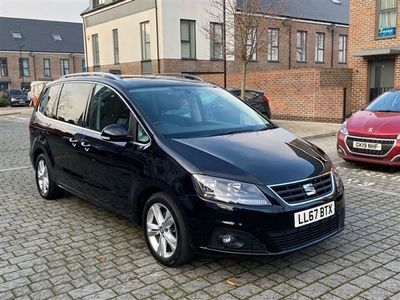 used Seat Alhambra 2.0L TDI XCELLENCE 5d 148 BHP OPENING SUNROOF, LEATHERS, ULEZ