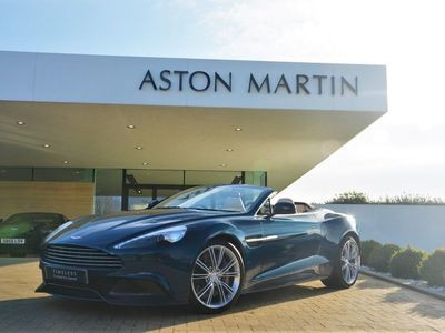 used Aston Martin Vanquish V12 2Dr Volante Touchtronic Auto