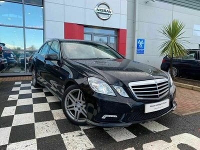 used Mercedes E250 E Class 1.8CGI BlueEFFICIENCY Sport Edition 125 G-Tronic (s/s) 4dr