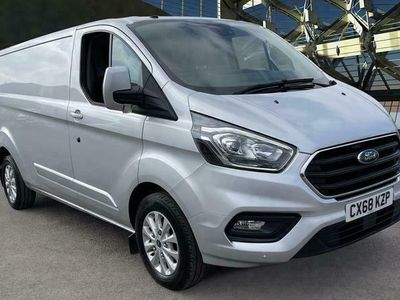 used Ford Custom Transit2.0 EcoBlue 170ps Low Roof Limited Van, 2018 (68)