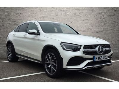 used Mercedes E300 GLC Coupe GLC d 4Matic AMG Line Prem Plus 5dr 9G-Tronic