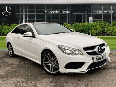 used Mercedes E350 E-ClassBlueTEC AMG Line Premium 2dr 9G-Tronic