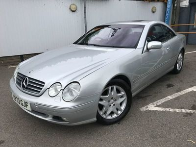used Mercedes CL500 5.02d 302 BHP RAC APPROVED VEHICLE !!