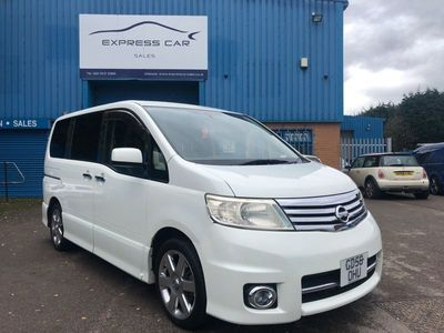 used Nissan Serena 2.0 PETROL AUTOMATIC 6 SEATER 5dr