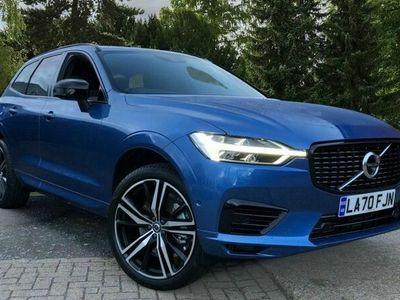 used Volvo XC60 Recharge T6 Plug-in hybrid AWD R-Design Auto, (Lounge, Climate, Versatility & Driver Assist Packs, Sunroof, BLIS)
