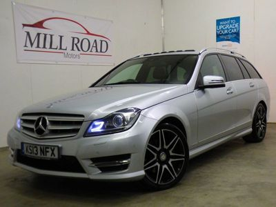 used Mercedes C350 C ClassCDI BLUEEFFICIENCY AMG SPORT PLUS 3.0 5dr