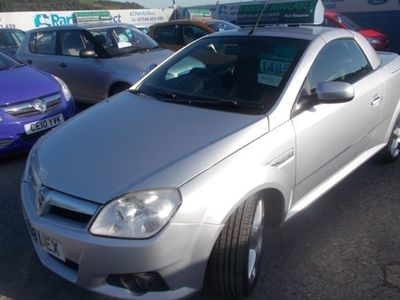 used Vauxhall Tigra Roadster 1.4i 16V Exclusiv 2d