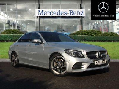used Mercedes C300 C-Classd AMG Line Premium Plus 2.0 4dr