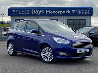 used Ford C-MAX 1.5 TDCi 120 Titanium 5dr Navigation Manual
