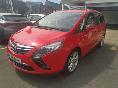 used Vauxhall Zafira 1.4T SRi 5dr 45615 MILES LOW CO2 GREAT SPEC