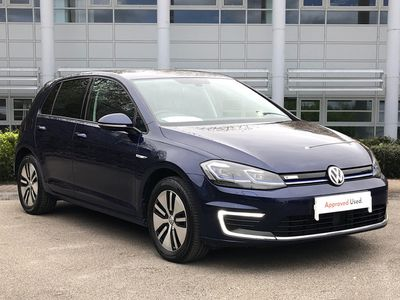used VW e-Golf 99kW35kWh 5dr Auto