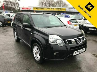 used Nissan X-Trail 2.0 ACENTA DCI 5d 171 BHP IN METALLIC BLACK WITH 114,000 MILES AND DOCUME