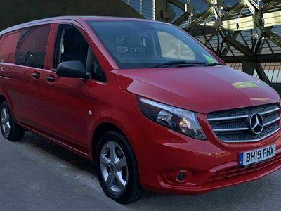 used Mercedes Vito 2.1 116 CDi Premium Crew Van G-Tronic+ RWD L2 EU6 (s/s) 5dr
