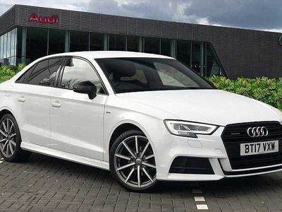 used Audi A3 Saloon Black Edition 2.0 TDI quattro 150 PS 6-speed