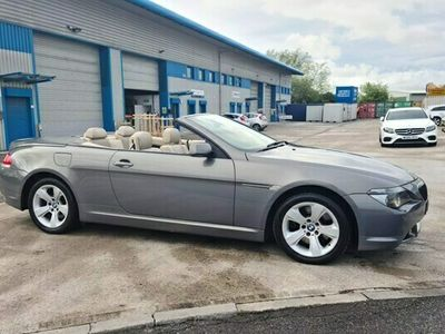 used BMW 645 6-Series Convertible Ci 2d Auto